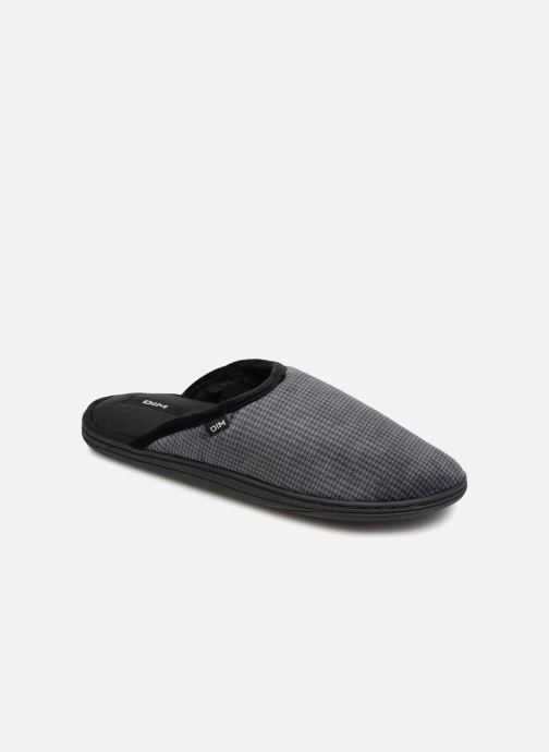 Slippers Dim D Galien Black detailed view/ Pair view