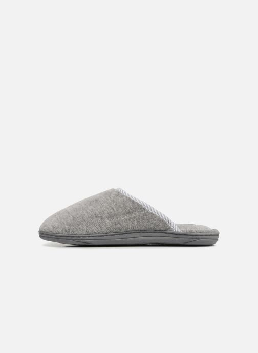 Slippers Dim D Gerry Grey front view
