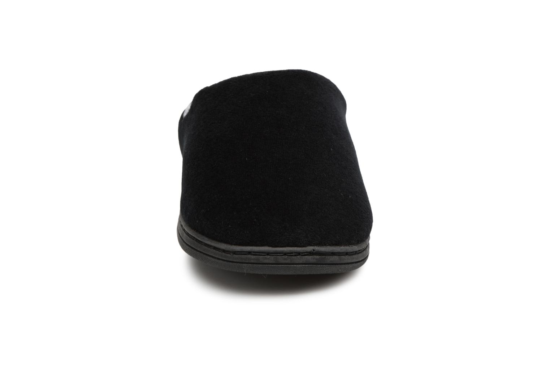 Chaussons Dim D Goumis Noir vue portées chaussures