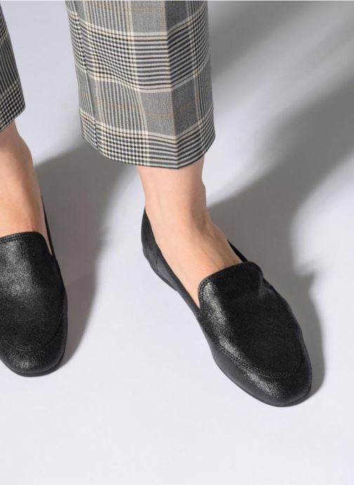 Loafers Esprit Lara loffer Black view from underneath / model view