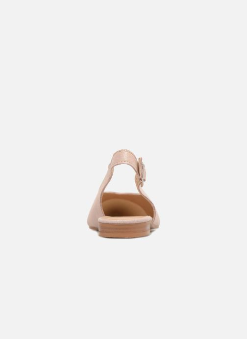 Ballet pumps Esprit Marni sling Pink view from the right