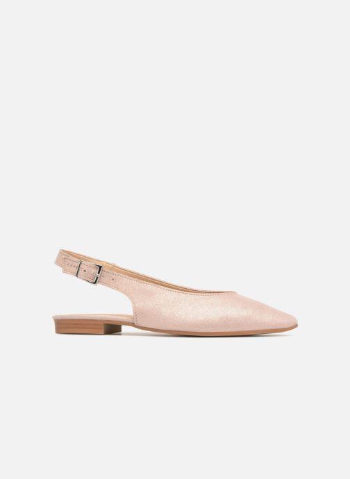 Ballet pumps Esprit Marni sling Pink back view