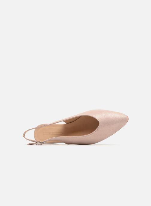 Bailarinas Esprit Marni sling Rosa vista lateral izquierda