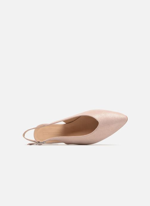 Ballet pumps Esprit Marni sling Pink view from the left