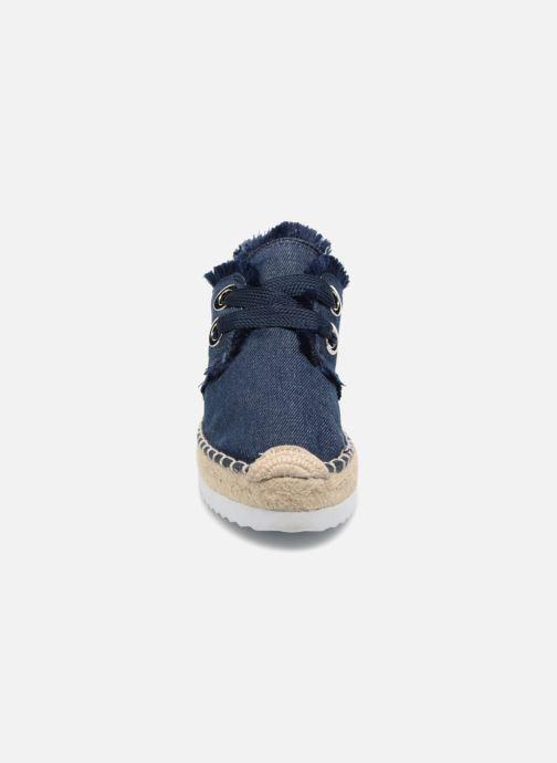 Espadrilles Esprit Ima denim Bleu vue portées chaussures