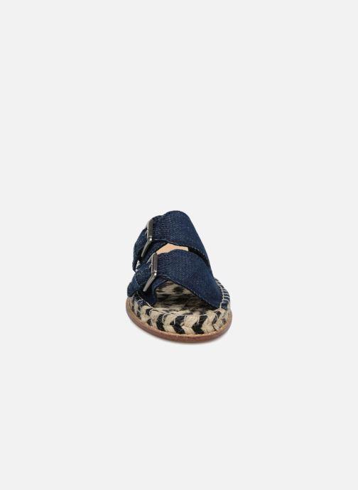 Espadrilles Esprit Olga 2 Bleu vue portées chaussures