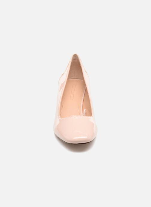 Escarpins Esprit Bice pump Rose vue portées chaussures