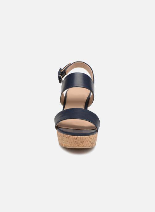 Sandales et nu-pieds Esprit Anna Bleu vue portées chaussures