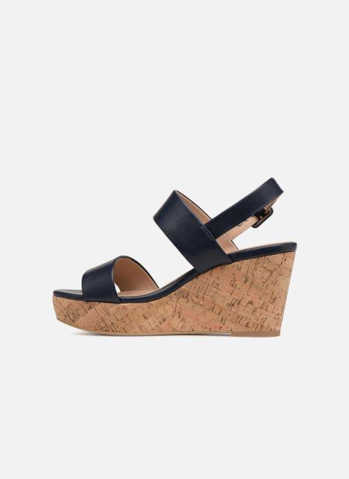 Sandales et nu-pieds Esprit Anna Bleu vue face