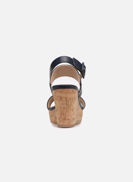 Sandales et nu-pieds Esprit Anna Bleu vue droite