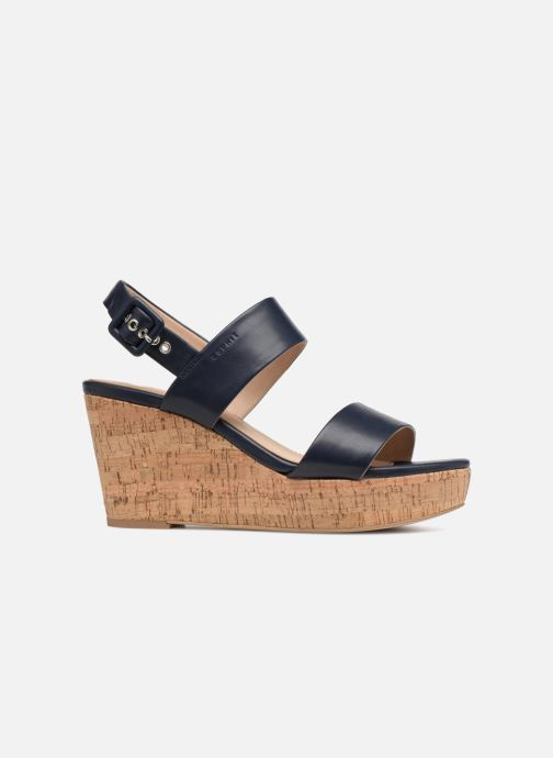 Sandales et nu-pieds Esprit Anna Bleu vue derrière