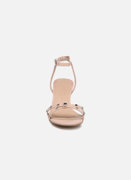 Sandales et nu-pieds Esprit Mara Beige vue portées chaussures
