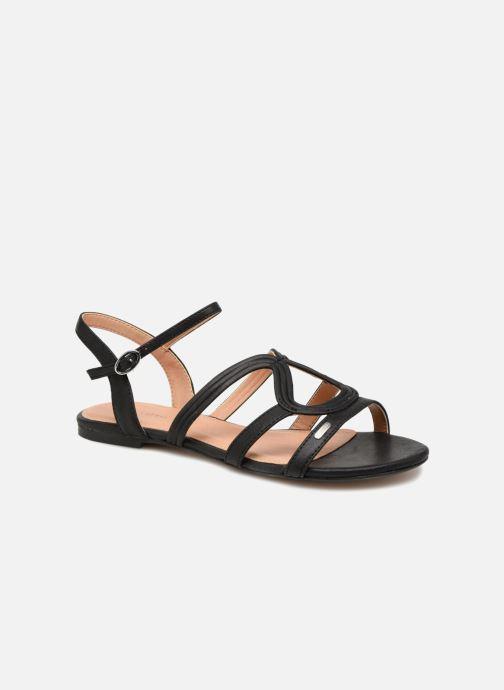 Sandales et nu-pieds Esprit Pépé wave Noir vue détail/paire