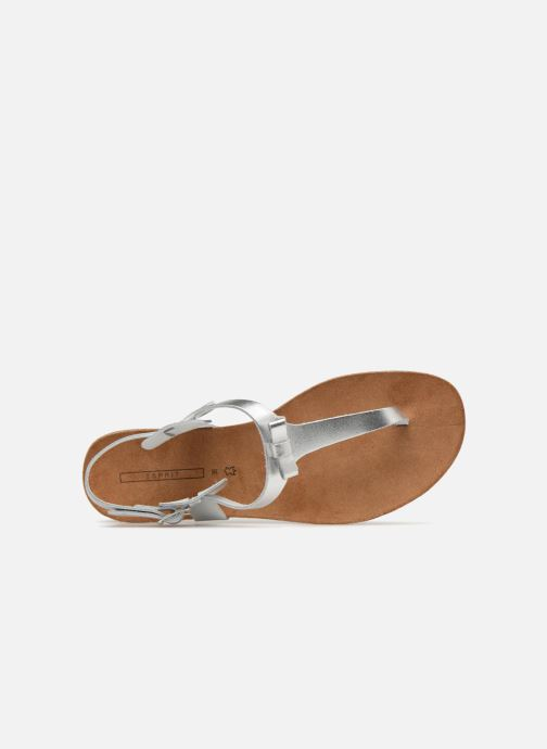 Sandals Esprit Kendra Silver view from the left