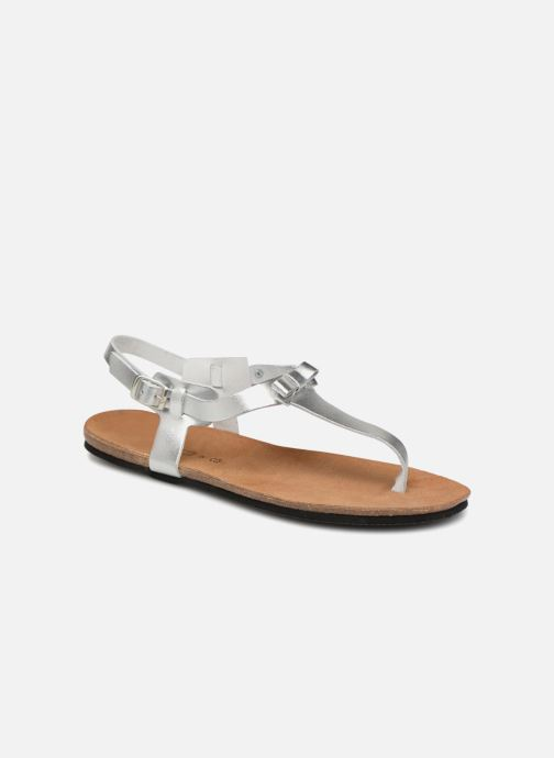 Sandals Esprit Kendra Silver detailed view/ Pair view