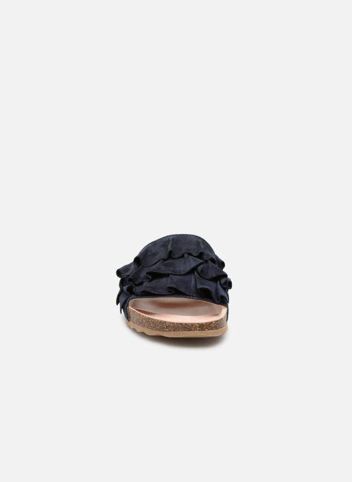 Mules et sabots Esprit Lisa Bleu vue portées chaussures