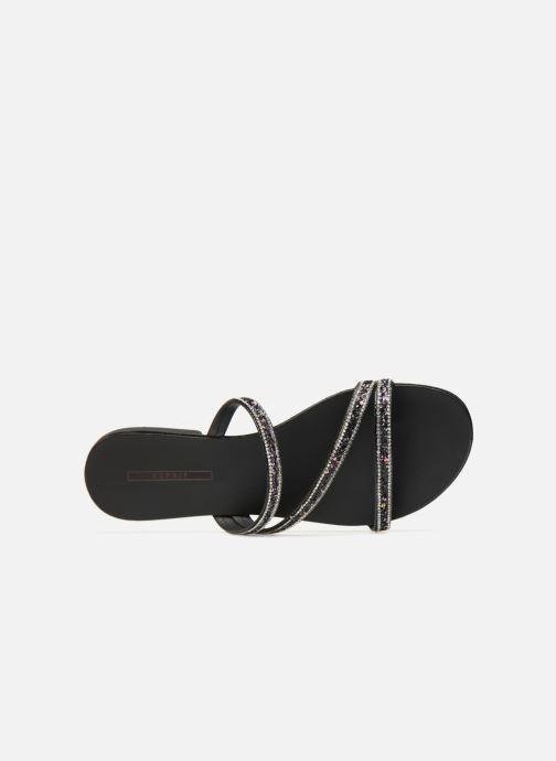 Wedges Esprit Nil slide Zwart links