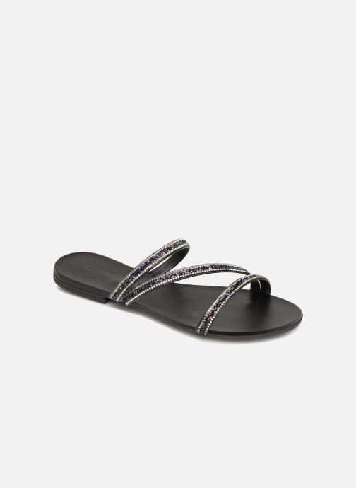 Wedges Esprit Nil slide Zwart detail