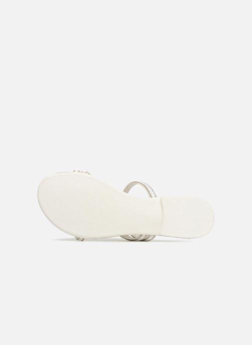 amp; weiß Pantoletten Nil Clogs Slide Esprit 314538 Fq0wSIxP