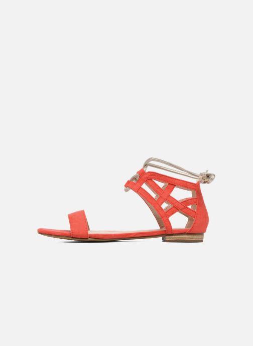 Sandales et nu-pieds I Love Shoes FELICIA Rouge vue face