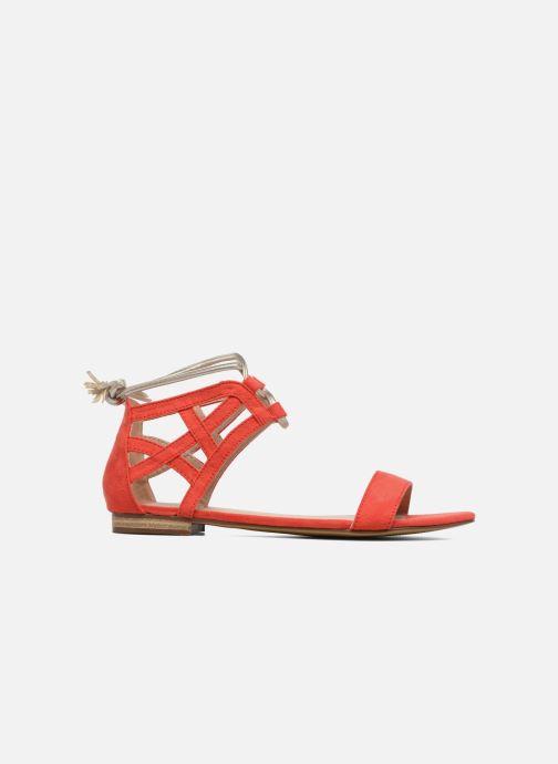 Sandales et nu-pieds I Love Shoes FELICIA Rouge vue derrière