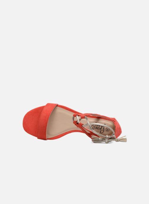 Sandales et nu-pieds I Love Shoes FELICIA Rouge vue gauche