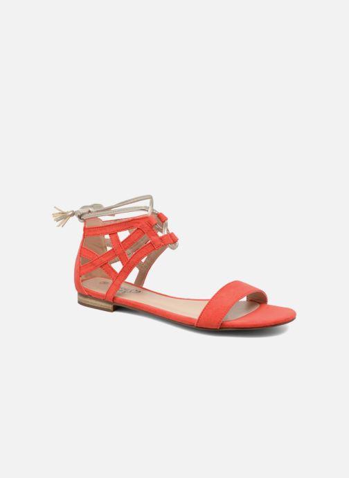 Sandales et nu-pieds I Love Shoes FELICIA Rouge vue détail/paire