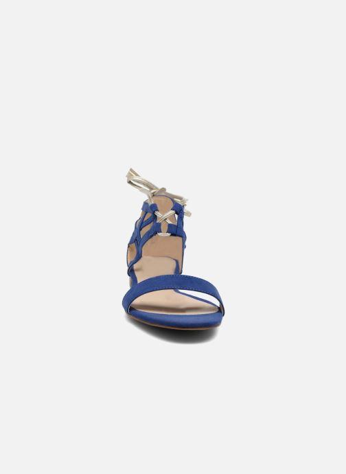 Sandali e scarpe aperte I Love Shoes FELICIA Azzurro modello indossato