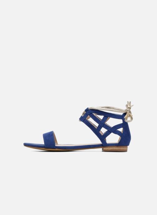 Sandales et nu-pieds I Love Shoes FELICIA Bleu vue face