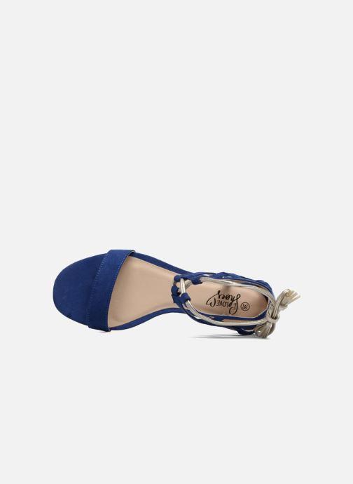 Sandales et nu-pieds I Love Shoes FELICIA Bleu vue gauche