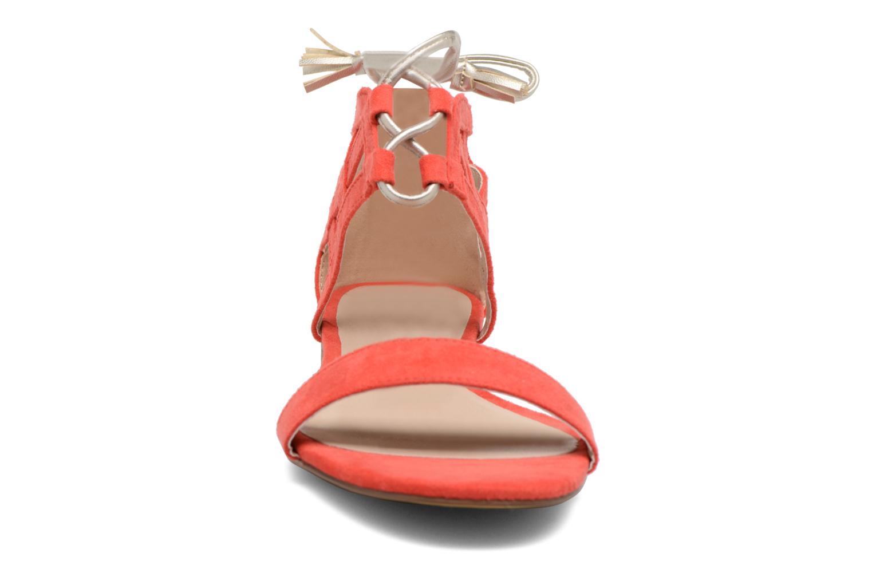 Sandali e scarpe aperte I Love Shoes FELICIA Rosso modello indossato