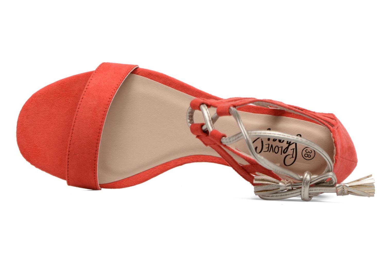 Sandali e scarpe aperte I Love Shoes FELICIA Rosso immagine sinistra