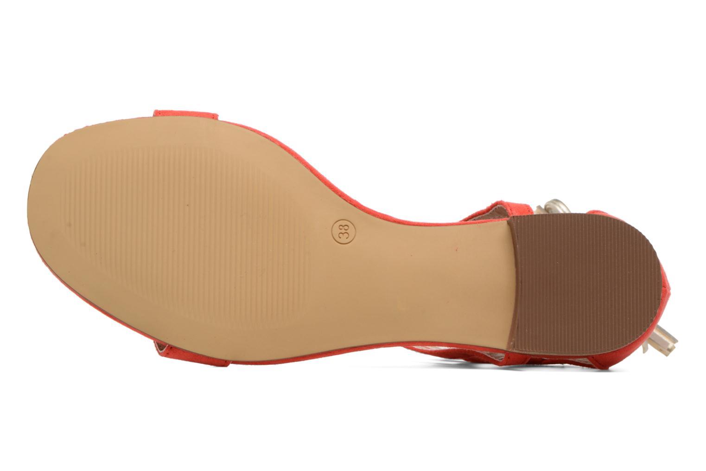 Sandali e scarpe aperte I Love Shoes FELICIA Rosso immagine dall'alto