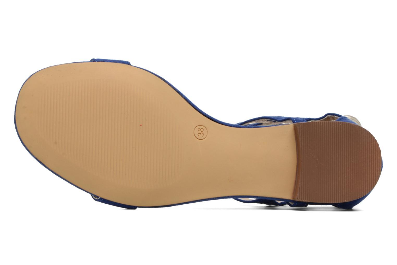 Sandales et nu-pieds I Love Shoes FELICIA Bleu vue haut