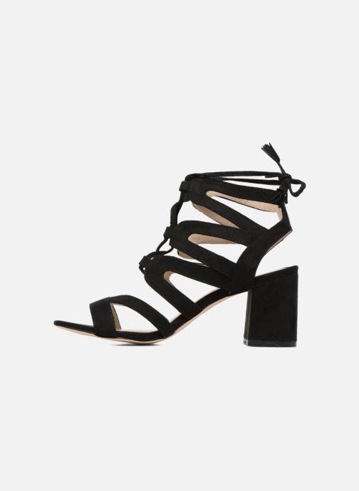 Sandales et nu-pieds I Love Shoes FELICINA Noir vue face