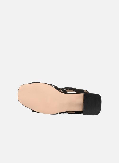 Sandales et nu-pieds I Love Shoes FELICINA Noir vue haut