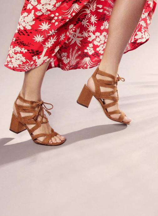 Sandales et nu-pieds I Love Shoes FELICINA Marron vue bas / vue portée sac
