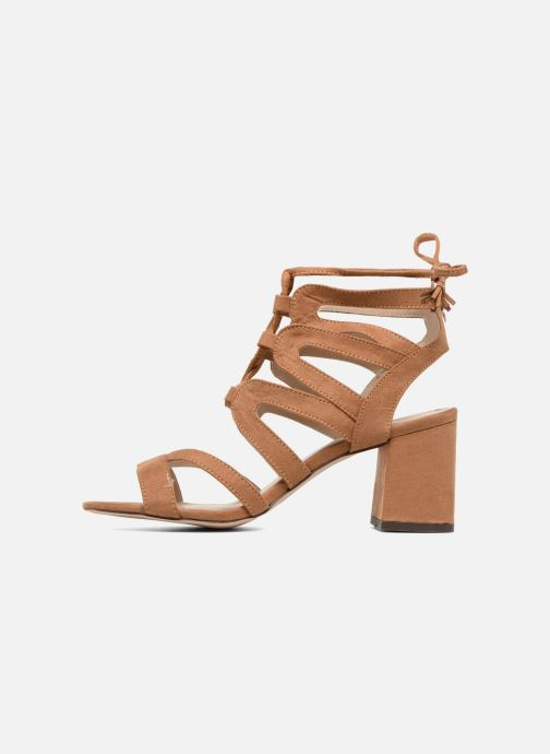 Sandales et nu-pieds I Love Shoes FELICINA Marron vue face