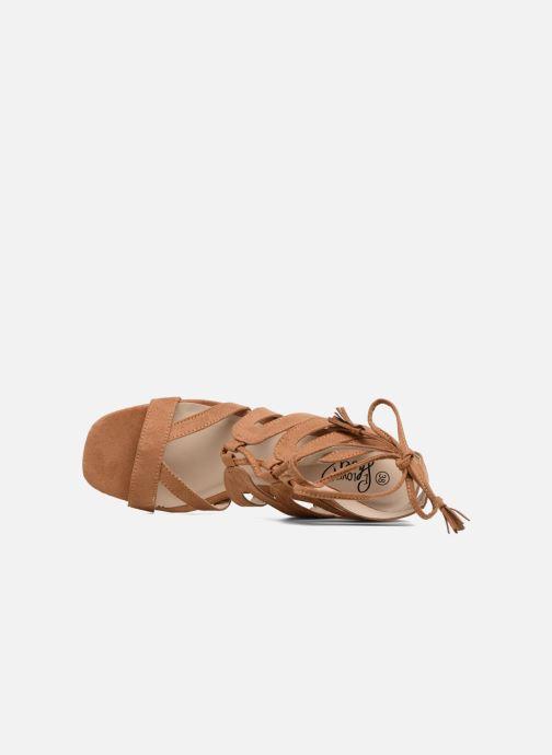 Sandales et nu-pieds I Love Shoes FELICINA Marron vue gauche
