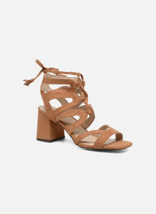 Sandals I Love Shoes FELICINA Brown detailed view/ Pair view