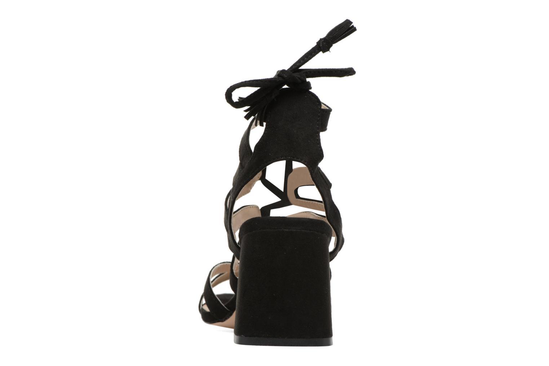 Sandales et nu-pieds I Love Shoes FELICINA Noir vue droite