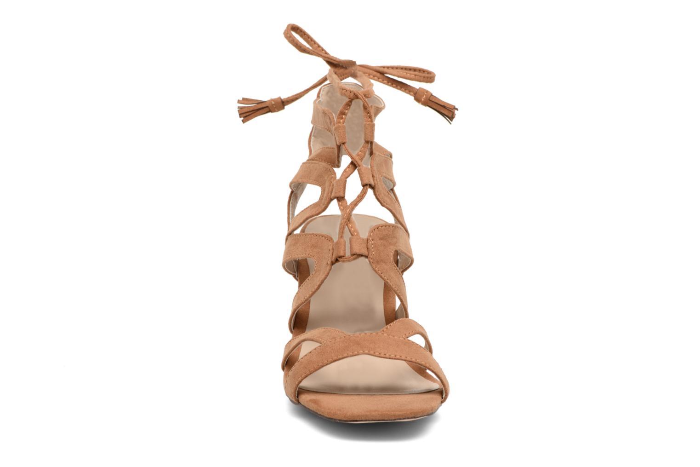 Sandales et nu-pieds I Love Shoes FELICINA Marron vue portées chaussures