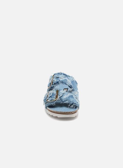 Mules et sabots Colors of California Billy Bleu vue portées chaussures