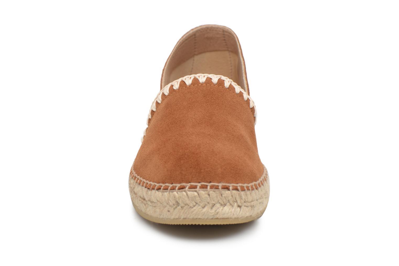 Espadrilles Georgia Rose Ispan Marron vue portées chaussures