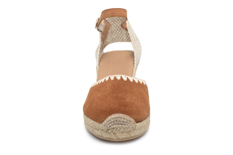 Espadrilles Georgia Rose Infeston Marron vue portées chaussures