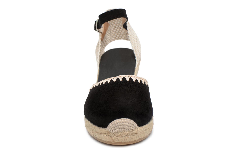 Espadrilles Georgia Rose Infeston Noir vue portées chaussures