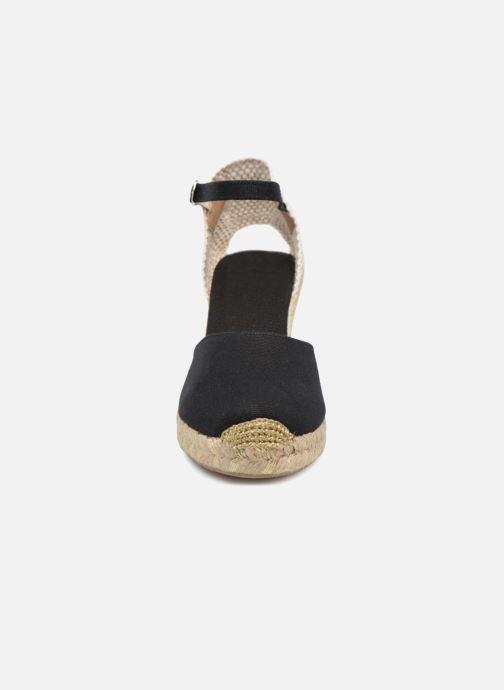 Espadrilles Georgia Rose Inagold Noir vue portées chaussures