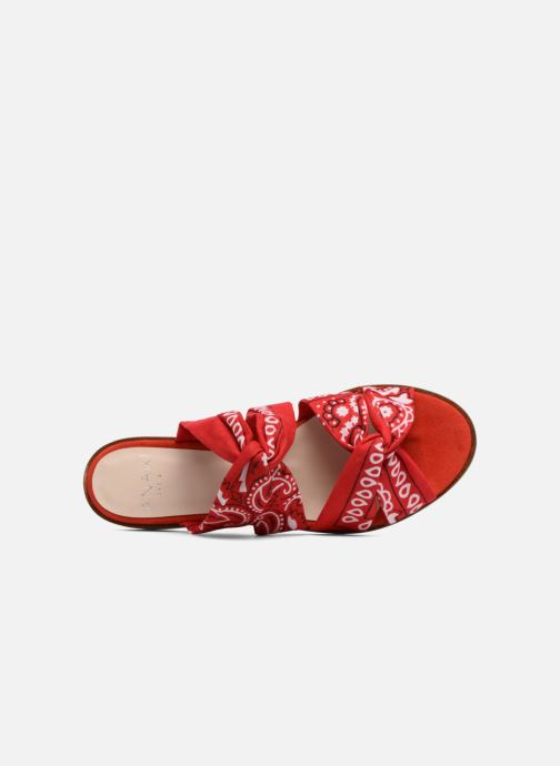 Mules & clogs Anaki SMU VEGAS Red view from the left