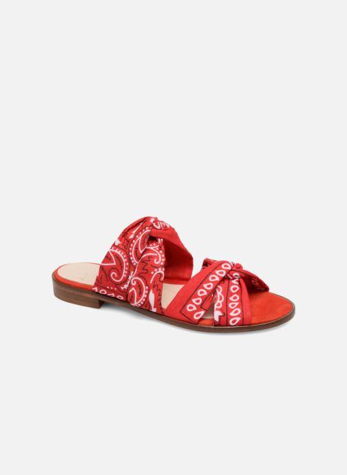 Clogs og træsko Anaki SMU VEGAS Rød detaljeret billede af skoene