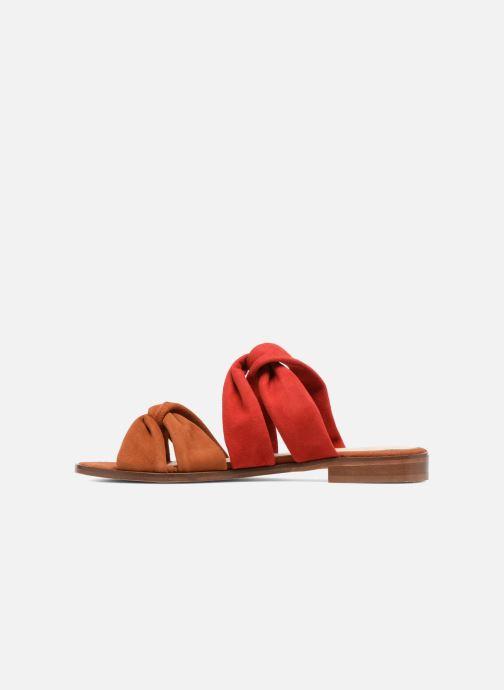 Sandales et nu-pieds Anaki VEGAS Rouge vue face
